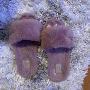 Ugh Sheepskin cozy slippers size 8